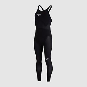 Men's Fastskin LZR Elite Openwater Closedback Male Bodyskin Black