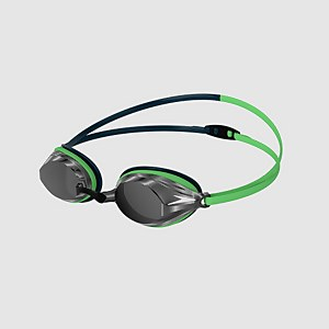 Adult Vengeance Mirror Goggles Green