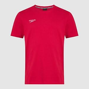Team Junior Crew Neck T-Shirt Red