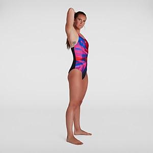 Women's Placement Digital Medalist Swimsuit Black
