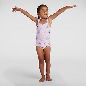 Infant Girl's Koko Koala Allover Thinstrap Swimsuit Purple