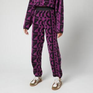 KENZO Women's Sport Monogram Jogpants - Purple