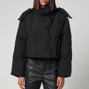 KENZO Women's Cropped Puffer Jacket - Black