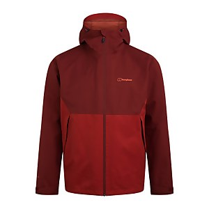 Men's Fellmaster Interactive Waterproof Jacket - Red / Brown