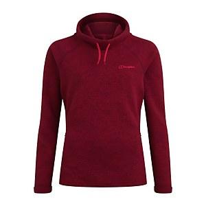 Women's Canvey Half Zip Fleece - Black / Red