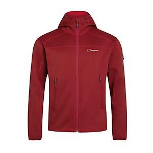 Men's Pravitale Mountain 2.0 Hooded Fleece Jacket - Red