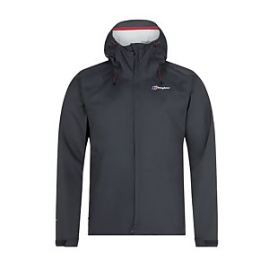 Men's Deluge Vented Waterproof Jacket - Dark Grey