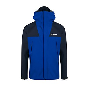 Men's Athunder Gore-tex Waterproof Jacket - Blue / Yellow / Dusk