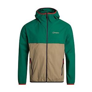 Men's Corbeck Windproof Jacket - Green /Beige