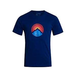 Men's Modern Mountain T-Shirt - Blue
