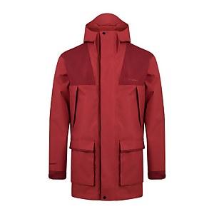Men's Breccan Interactive Parka Waterproof Jacket - Red / Brown