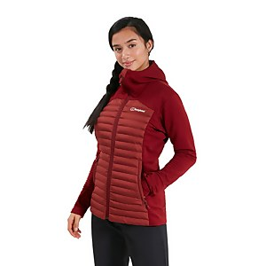 Women's Nula Hybrid Insulated Jacket - Red