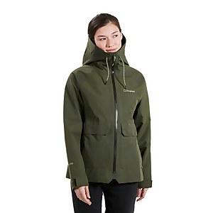 Women's Highraise Waterproof Jacket - Green