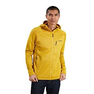 Men's Carnot Hooded Fleece Jacket - Yellow