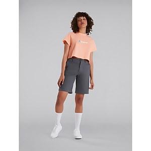 Women's Crop Short Sleeve Tee - Pink