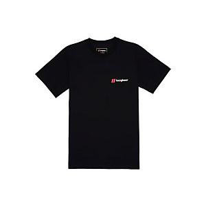 Unisex Heritage Front & Back Logo Tee - Black