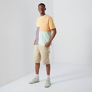 Short Sleeved Patchwork T-shirt