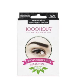 1000 Hour Eyelash & Brow Plant Extract Dye Kit - Natural Black
