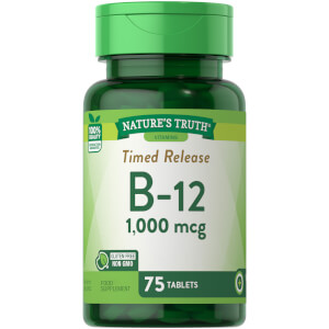 Timed Released Vitamin B12 1000mcg