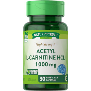 Acetyl L-Carnitine 1000mg - 30 Capsules