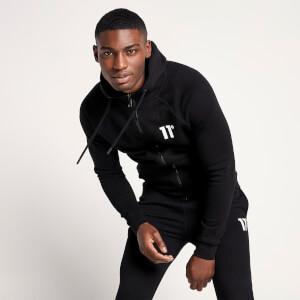 Men's Core Full Zip Hoodie - Black
