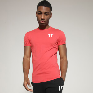 Men's Core Muscle Fit T-Shirt - Goji Berry Red