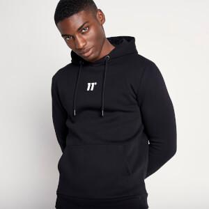 Men's Small Logo Pullover Hoodie - Black