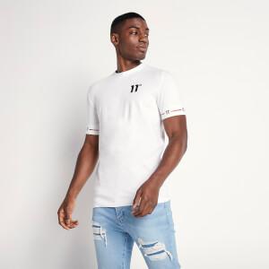 Men's Cuffed T-Shirt - White