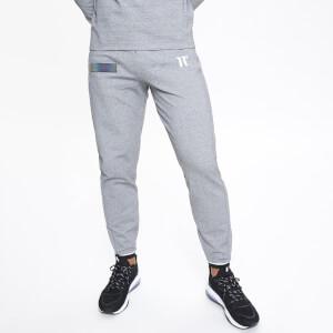Men's Eon Fade Logo Joggers Skinny Fit - Grey Marl