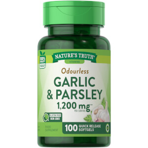 NT Odorless Garlic & Parsley 100 SG - 100 Quick-release softgels