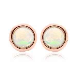 Fire Opal October Birthstone Earrings
