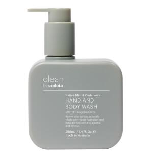 endota spa Native Mint and Cedarwood Hand and Body Wash 250ml