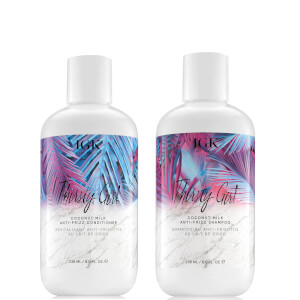 IGK Thirsty Girl Anti-Frizz Shampoo and Conditioner Bundle