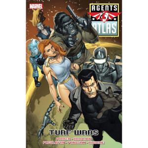 Agents Of Atlas Turf Wars Prem Hardcover