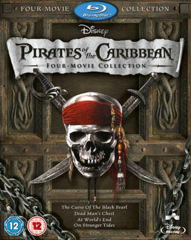 Fluch der Karibik Box Set (1-4 plus Bonus-CD)