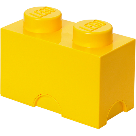 LEGO Storage Brick 2- Yellow