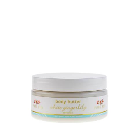Pure Fiji Body Butter White Gingerlilly - 8oz