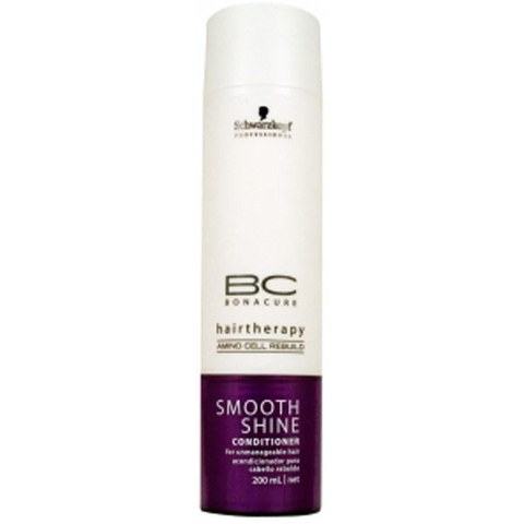 Schwarzkopf BC Hairtherapy Smooth Shine Conditioner (200ml)