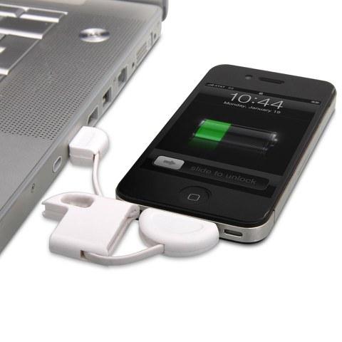 iPhone Sleutelhanger met USB-Oplaadkabel
