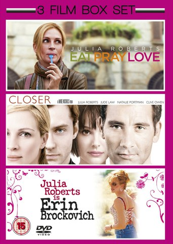 Eat Pray Love / Closer / Erin Brockovich