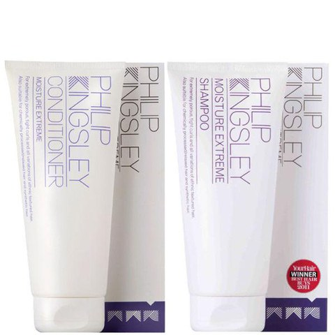 Philip Kingsley Moisture Extreme Duo - Shampoo & Conditioner
