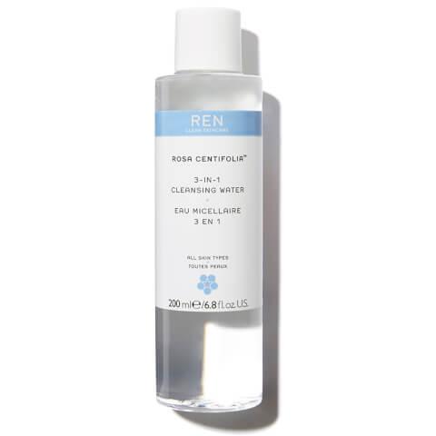 REN Rosa Centifolia™ 3-In-1 Cleansing Water