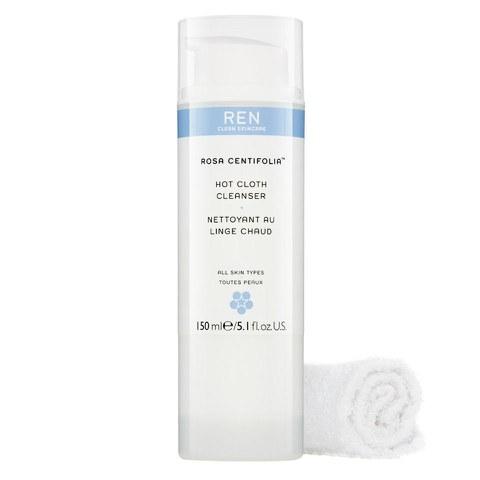 REN Rosa Centifolia™ Hot Cloth Cleanser