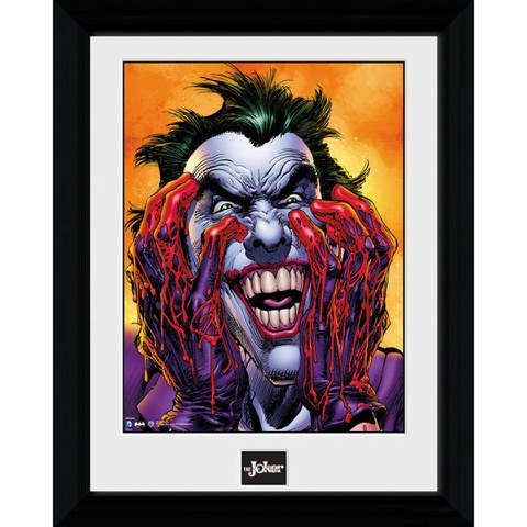 Batman Joker Laugh - 30 x 40cm Collector Prints