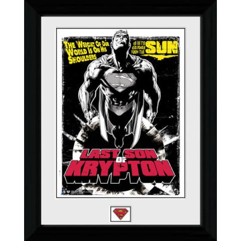 Superman Last Son of Krypton - 30 x 40cm Collector Prints