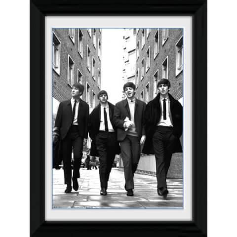 The Beatles In London Portrait - 30 x 40cm Collector Prints