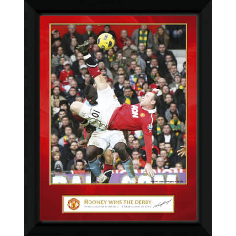 Manchester United Rooney Derby Goal - 8