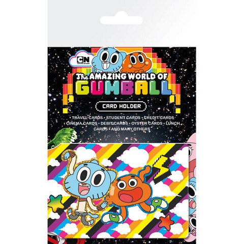 Porte-Cartes Monde Incroyable de Gumball
