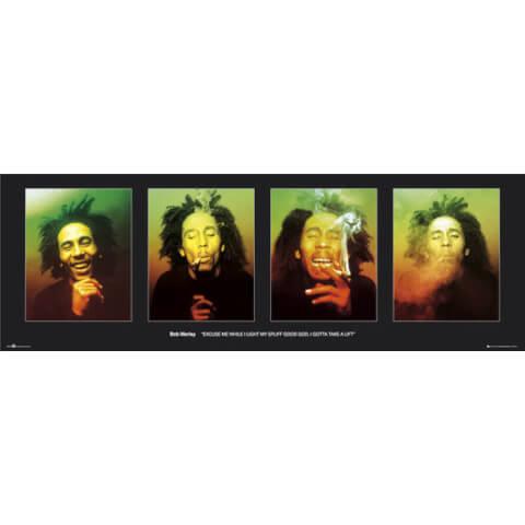 Bob Marley Excuse Me - Door Poster - 53 x 158cm
