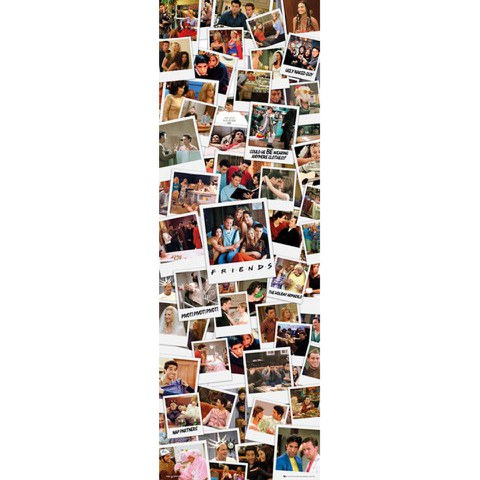 Friends Polaroids - Door Poster - 53 x 158cm